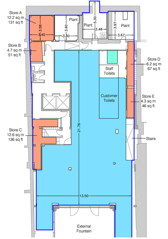 44 45 Great Marlborough Street Floor Plan